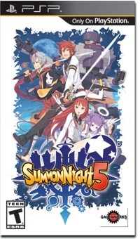 Summon Night 5 | Cover Art