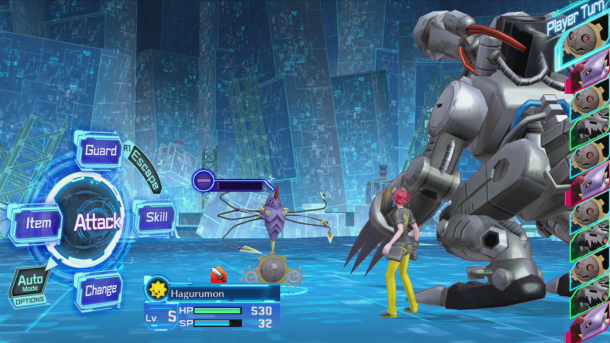 Digimon Story Cyber Sleuth | The Battle System In Action