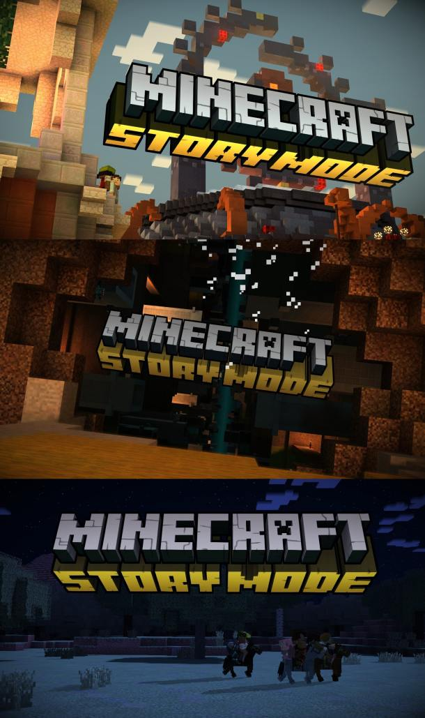 Minecraft: Story Mode | Title Screens
