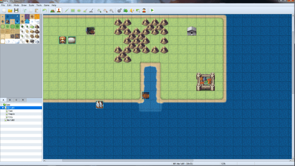 RPG Maker MV | Overworld Construction