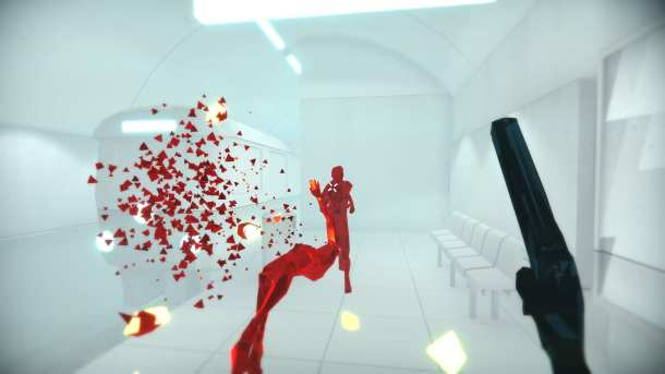 SUPERHOT | Subway level