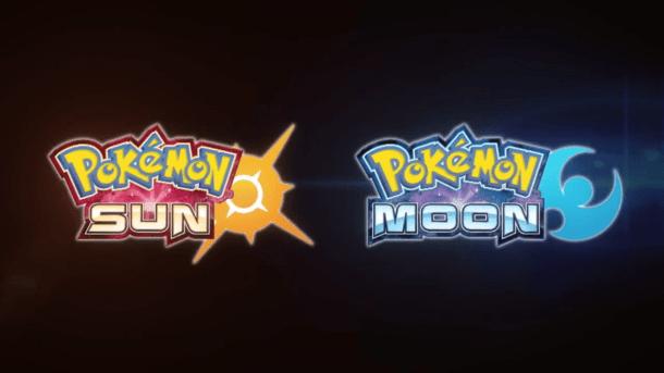 Pokémon Sun and Moon logos