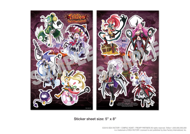 Trillion God of Destruction Sticker Set
