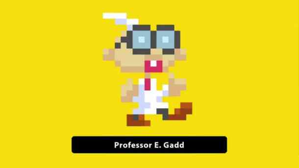 Super Mario Maker Professor E. Gadd costume