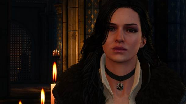 The Witcher III Yennefer