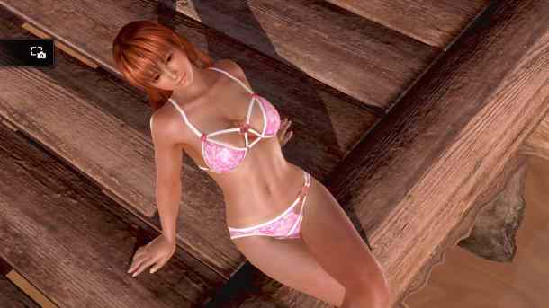 Dead or Alive Xtreme 3: Fortune | Kasumi Relaxing