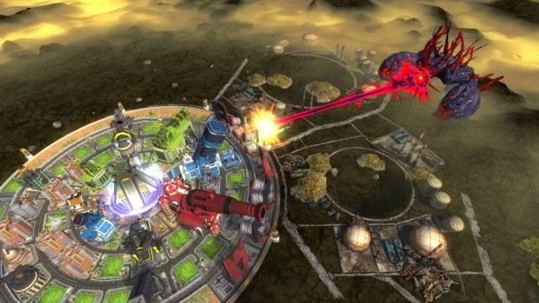 Aegis of Earth   Kaiju Fight