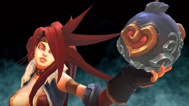 Battle Chasers: Nightwar | Red Monika