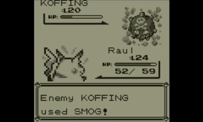 Pokémon Red | Koffing design