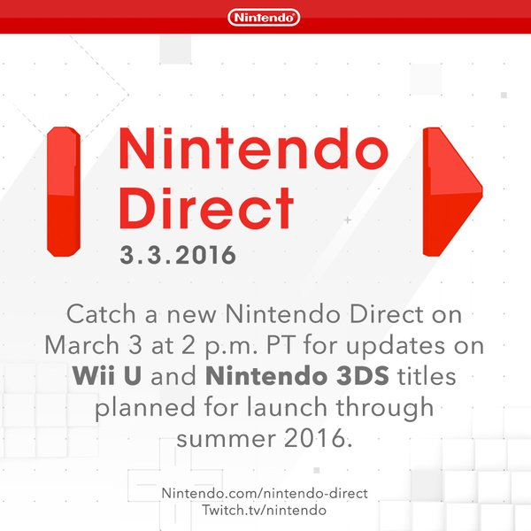 Nintendo Direct 3-3