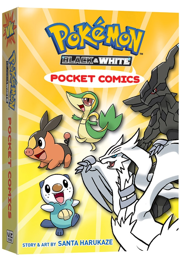 Pokemon-PocketComics-Black&White-Volume01-3D