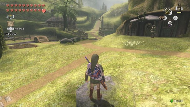 Zelda of Zelda: Twilight Princess HD | Ordon Village