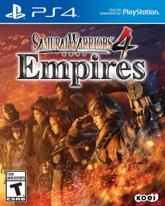 Samurai Warriors 4 Empires | American Cover