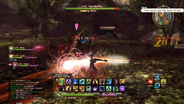 Sword Art Online: Hollow Realization | Screenshot