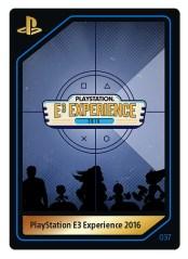 PlayStation E3 Experience 2016   Card