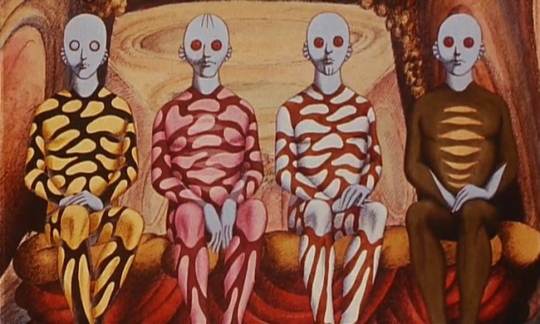 René Laloux's animated classic, Fantastic Planet.