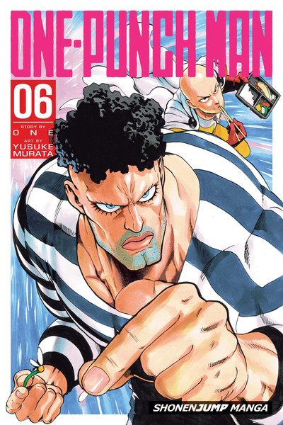 One-Punch Man 06 Manga