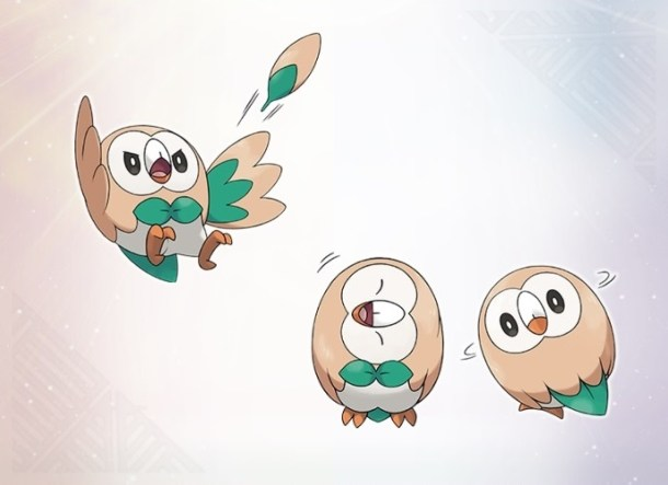 Pokémon Sun and Moon Rowlett