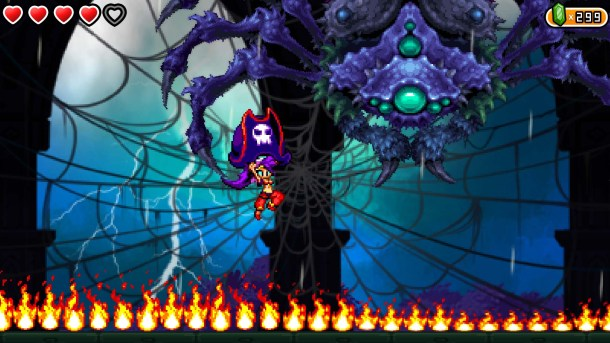 Shantae | Spider Boss