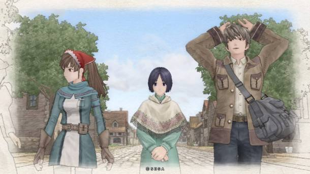 Valkyria Chronicles Remastered | Town