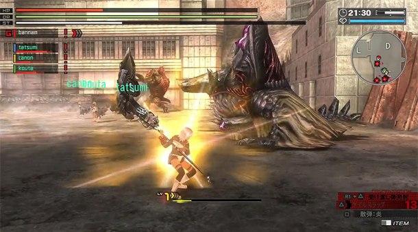 God Eater Resurrection | Battle
