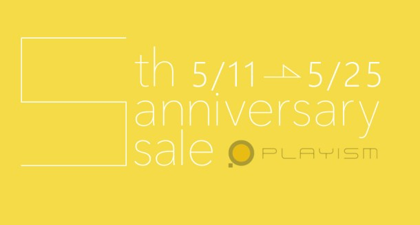 playism anniversary sale