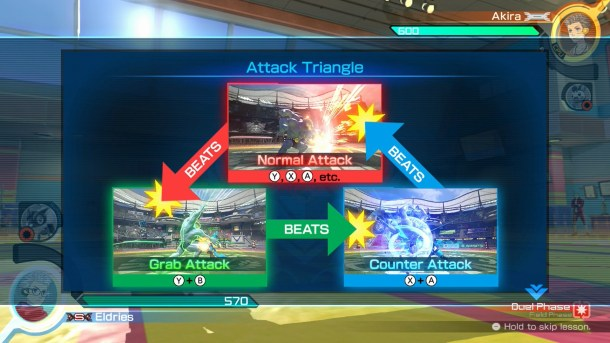 Pokkén Tournament - Attack Triangle