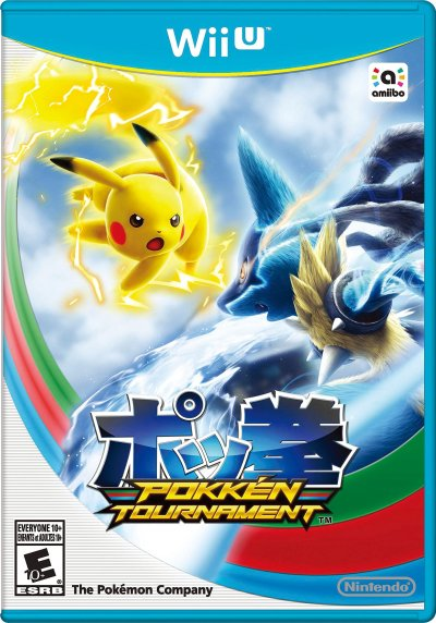 Pokkén Tournament - Box Art