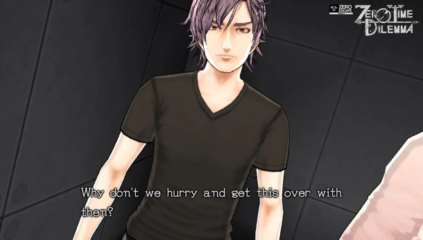 Zero Time Dilemma | Junpei