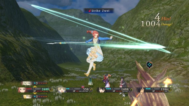 Tales of Berseria | Happy to have a spear user that stays with the group