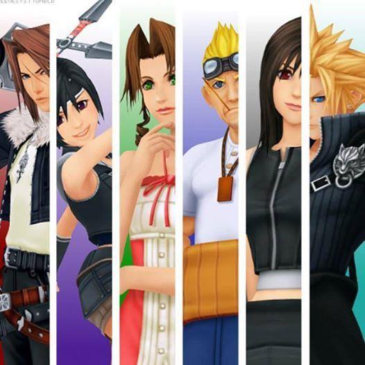 Kingdom Hearts FF Characters