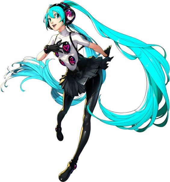 Hatsune Miku: Project DIVA x P4D Hatusune Miku