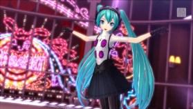 Hatsune Miku: Project DIVA X x P4D In-game 2