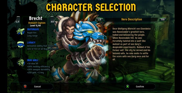 Rogue Stormers | Character Select