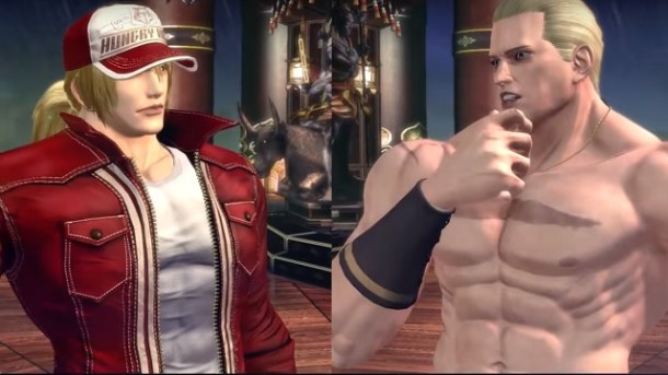 The King of Fighters XIV Terry and Geese