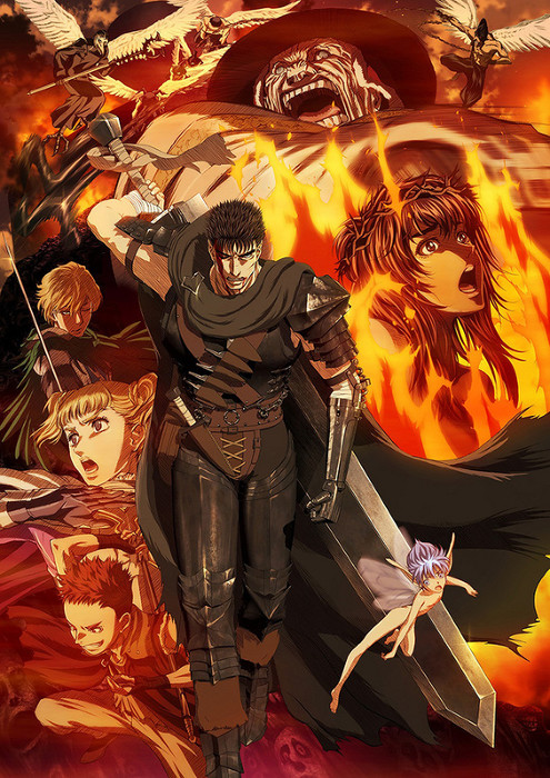 New key visual for the Berserk anime