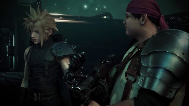 Final Fantasy | Final Fantasy VII Remake Cloud and Wedge