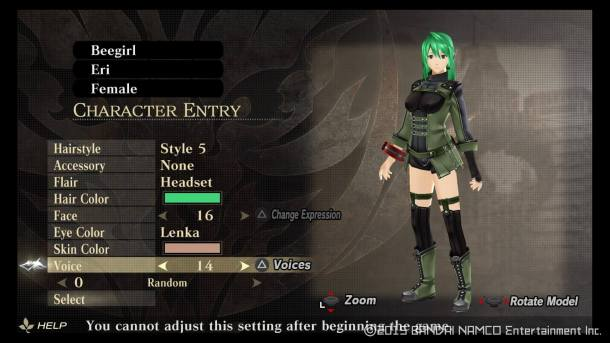 God Eater Resurrection | Character Creation