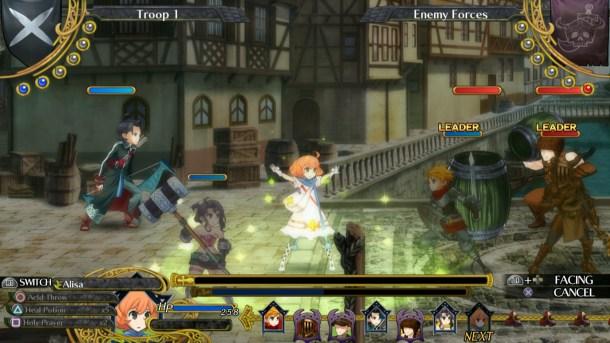 Grand Kingdom   Combat