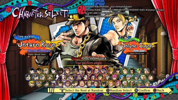 JoJos Bizarre Adventure: Eyes of Heaven | Huge Cast