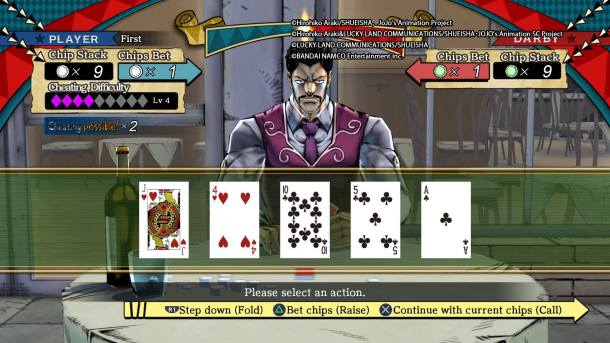 JoJos Bizarre Adventure: Eyes of Heaven | Poker Game