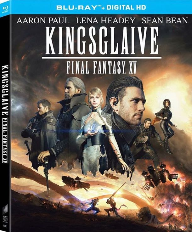 Kingsglaive: Final Fantasy XV Blu-ray box art