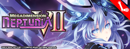 Megadimension Neptunia VII Steam Banner