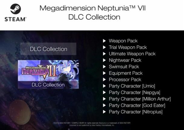 Megadimension Neptunia VII Steam DLC Collection