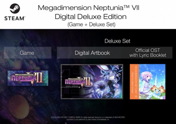 Megadimension Neptunia VII Steam Digital Deluxe Edition