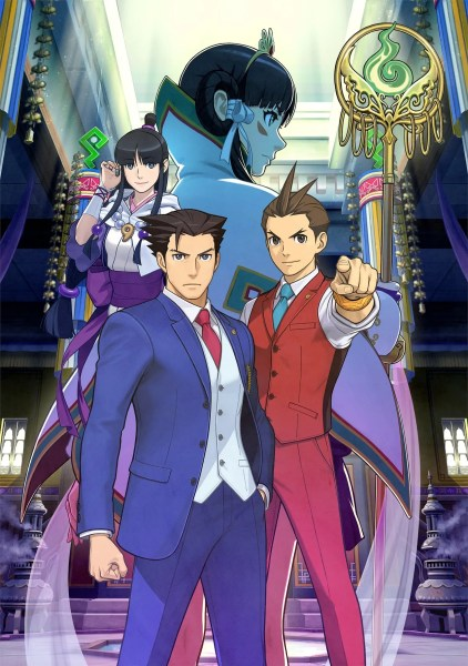 Ace Attorney - Spirit of Justice key art