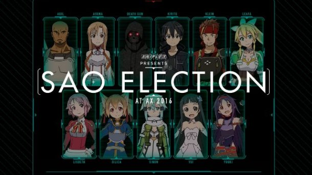 SAO | Election at AX 2016