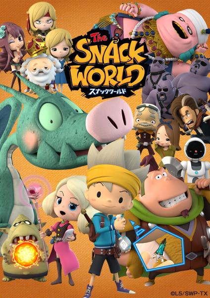 Snack World Cast