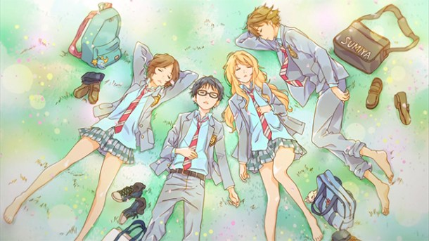 your lie in april featured | Naoshi Arakawa