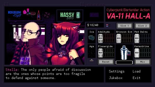 VA-11 HALL -A   Dialogue